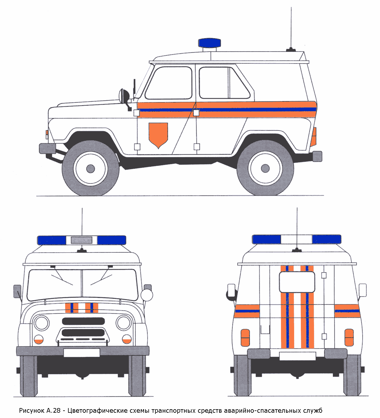 РИСУНОК А.28 (К ГОСТ Р 50574-2002)