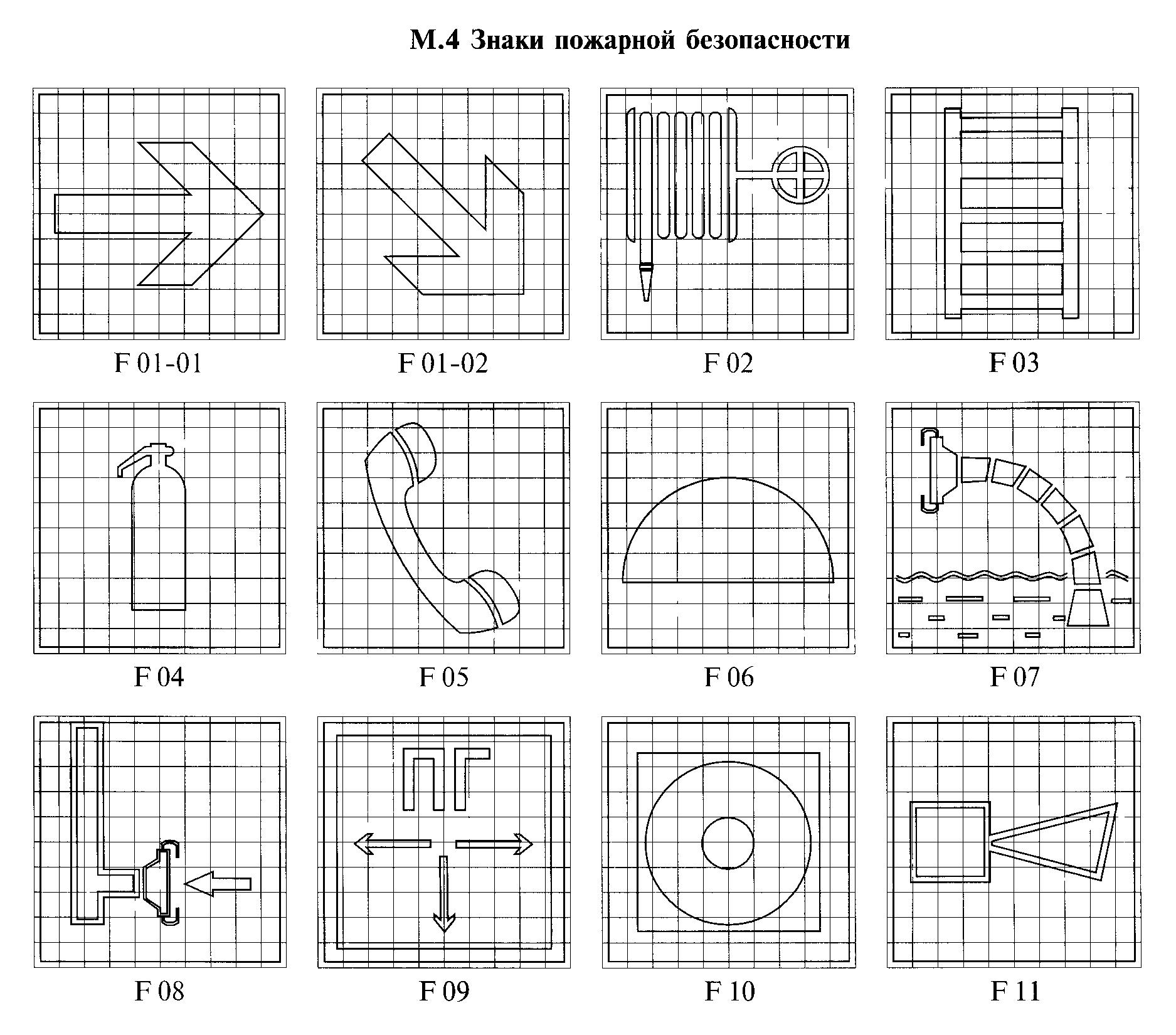 РИСУНОК М.4. К ГОСТ Р 12.4.026-2001