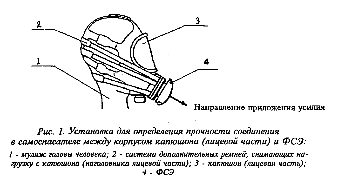 РИС. 1 К НПБ 302-2001