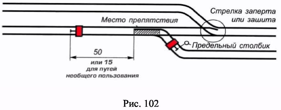 РИС. 102 ПРИЛОЖЕНИЯ N 7 К ПРИКАЗУ МИНТРАНСА РФ ОТ 21.12.2010 N 286